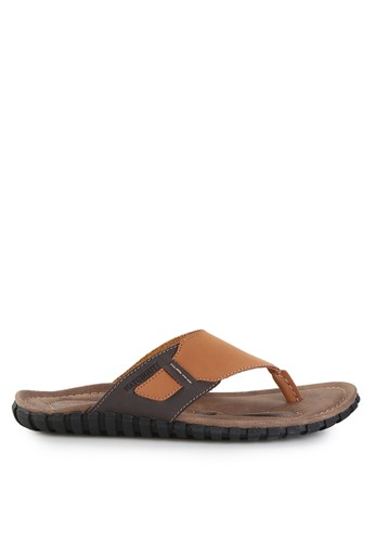 Watchout! Shoes brown Sandal Thongs WA021SH0V7XVID_1