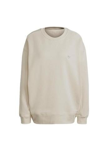 ADIDAS white adidas Originals No-Dye Sweatshirt 3CCD4AADC93135GS_1