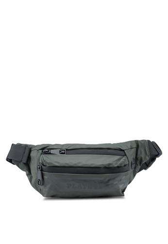 Playboy green Waist Bag AF4FDACB8BEDBAGS_1