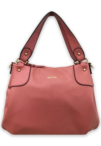RUCINI pink Rucini Soft Tote Handbag Pink FBD4FAC096CD7FGS_1