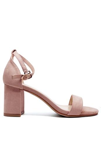 Twenty Eight Shoes 繞帶高踭涼鞋5691-1 9C837SH9CC2562GS_1