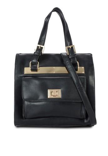 金飾方形手提包,zalora退貨 包, 包