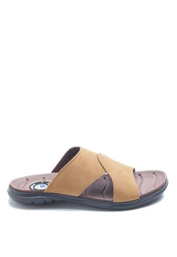 Dr. Kevin brown Dr. Kevin Men Casual Sandal 17202 - Tan DR982SH25HAOID_1