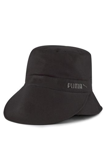 PUMA black Bucket Visor Hat 92D09AC9953D36GS_1