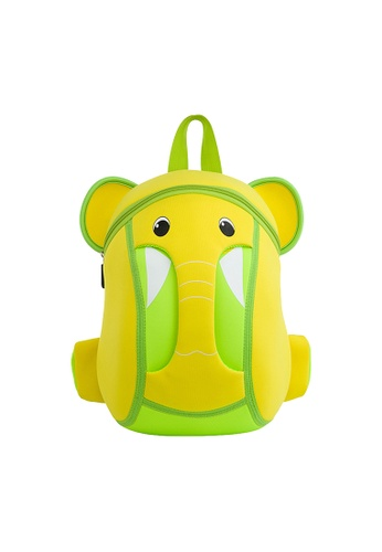Nohoo yellow Nohoo Kids Backpack Elephant Trunk (Yellow) AE20CKC3013088GS_1
