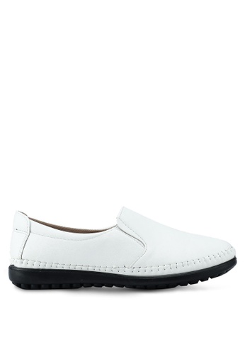 Louis Cuppers white Casual Loafers E346CSH593EB36GS_1