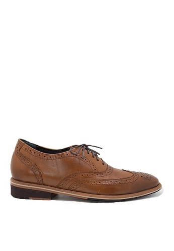 Nappamilano brown Edmond Brogues NA608SH60RVBID_1