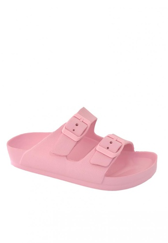Pineapple pink Kids' Classic Slip-ons 6CCE5KSF85F87FGS_1