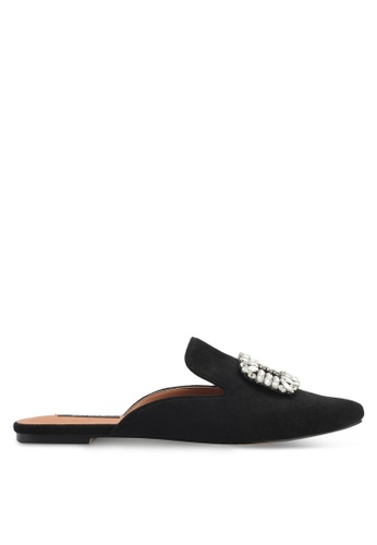 ZALORA black Embelished Slip On Mule B4E2DZZ3F708C1GS_1