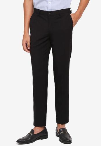 G2000 black TR Plain Weave Formal Ultra Slim Pants 6900AAA3F32980GS_1