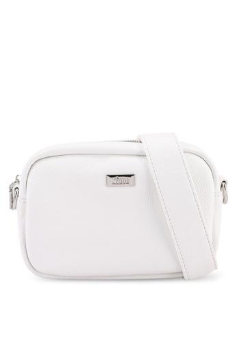 Keddo white Rose Sling Bag BF90AAC44E9AB3GS_1