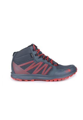 The North Face grey TNF M Litewave Fastpack Mid Gtx Turbulence Grey/TNF Red 5DC7BSH0388397GS_1