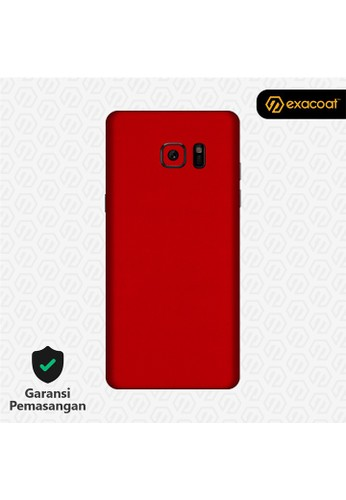 Exacoat Galaxy Note FE Skins True Colors - Lust Red A98CFESB74DC7DGS_1