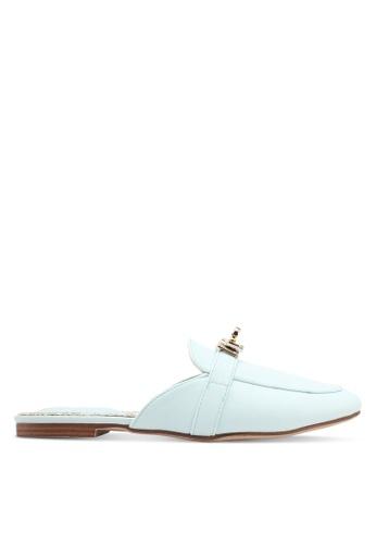 Keddo blue Buckle Slip On Flats 5FAA6SHAFD2136GS_1