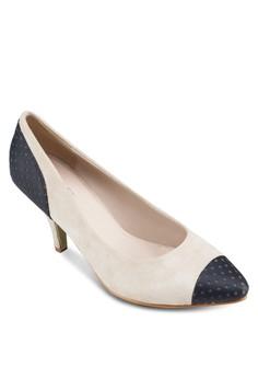 Jeanine Toe Cap Heels