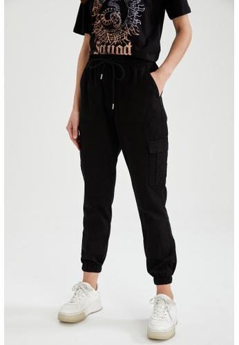DeFacto black Woman Woven Trouser 0EC27AAC64E913GS_1