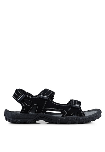 Weinbrenner black Strap On Sandals D9846SHF09D056GS_1