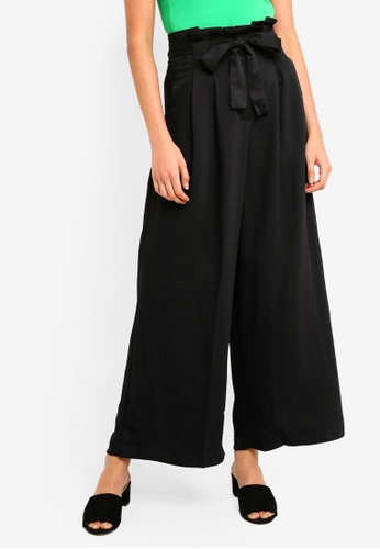 Supre black Madison Belted Wide Leg Pants B833AAAB2C65A1GS_1