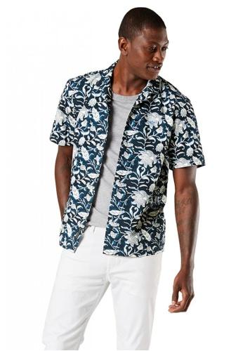 Dockers blue Dockers Short Sleeve Island Shirt Men 85985-0006 AB738AA7F518B8GS_1