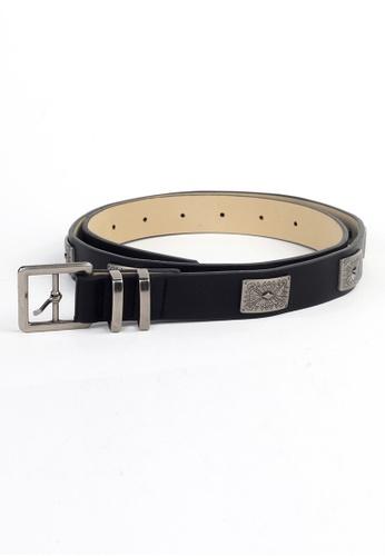 London Rag black London Rag LADIES BLACK Belt BT5213 LO360AC0GYIFSG_1