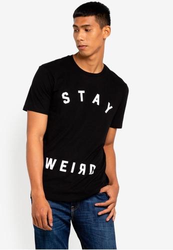 Cotton On 黑色 Tbar Tee 2 T-Shirt 98451AA9D1FCEAGS_1