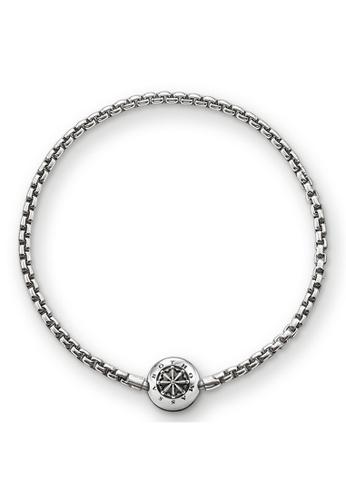"THOMAS SABO silver bracelet for beads ""blackened"" CF3E3ACE8EDBECGS_1"