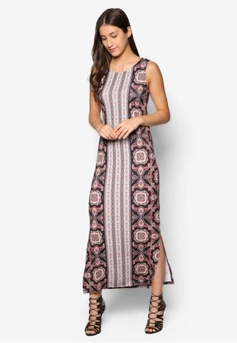 Petite 印花長洋裝, 服飾, esprit 衣服洋裝
