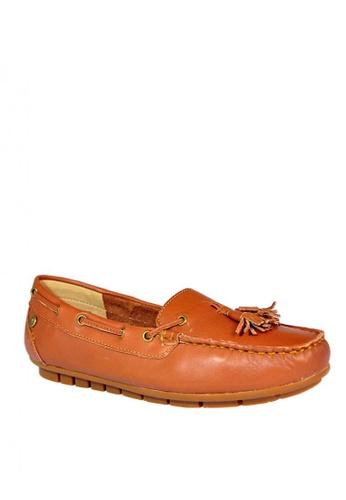 Hush Puppies navy Grace Tassel Casual Shoes HU326SH0KTIPPH_1
