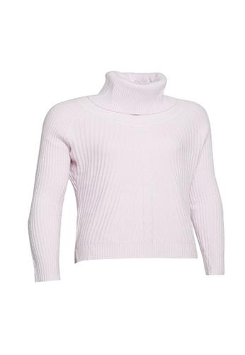 Universal Traveller pink Universal Traveller Oversized Turtleneck Knitted Sweater - KSW 9163 1B538AAD56579DGS_1