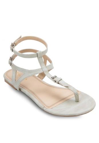 T 字雙踝zalora 男鞋 評價帶涼鞋, 女鞋, 涼鞋