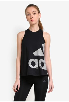 【ZALORA】 adidas on the move adidas all over print 坦克背心
