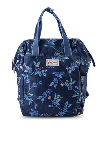 Cath Kidston blue Greenwich Double Zip Backpack Nappy Bag 16DB9KC9EB783CGS_1