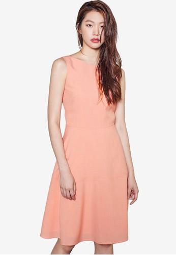 無袖修身洋裝,esprit holdings 服飾, 洋裝