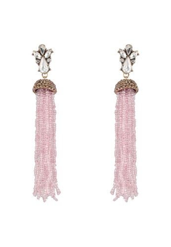 Vero Moda purple Ella Pearl Earrings C48D4AC4B9959DGS_1