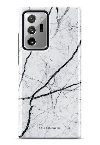 Polar Polar white Classic White Dual-Layer Tough Case Glossy For Samsung Galaxy Note20 Ultra 5G 247E8AC8A22356GS_1