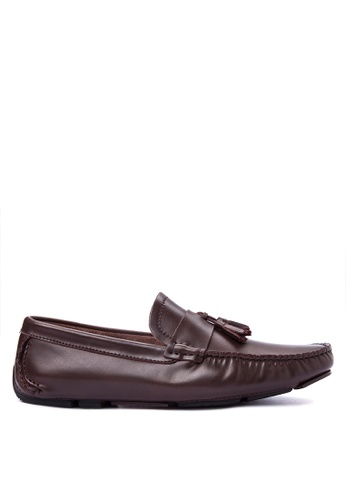 G&G brown Officine Men's Shoes GG012SH0KEP6PH_1