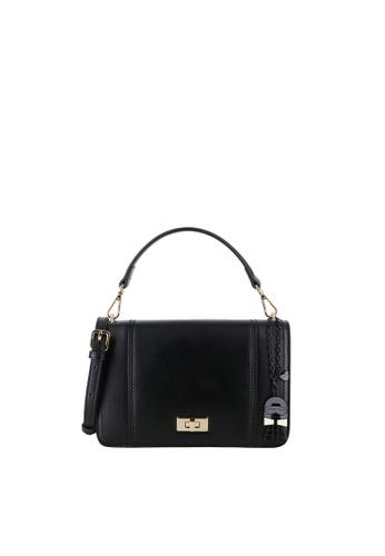 SEMBONIA black Blooming Lover Top-Handle Bag 651A0ACFAF5194GS_1