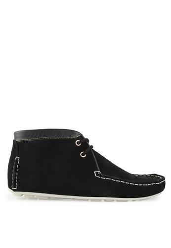 S.Baldo black Shane Casual Shoes SB324SH98OYNID_1
