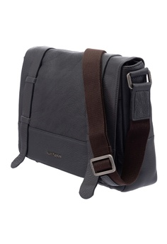 8ed89372a 20% OFF Hush Puppies Hush Puppies Men's Chase Leather Messenger Bag Grey RM  753.70 NOW RM 602.96 Sizes One Size