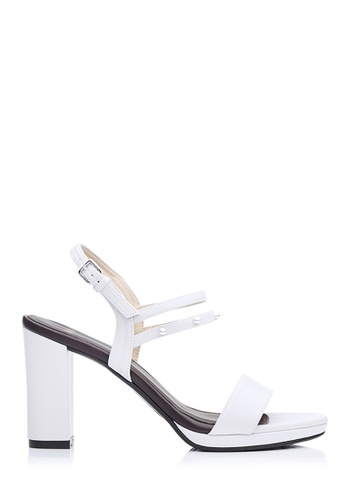 BONIA white Women White Ivory Sling-Back Sandals 3323CSH5B232AAGS_1