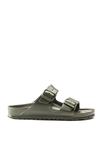 Birkenstock green Arizona EVA Sandals 49FE0SHB558C9BGS_1