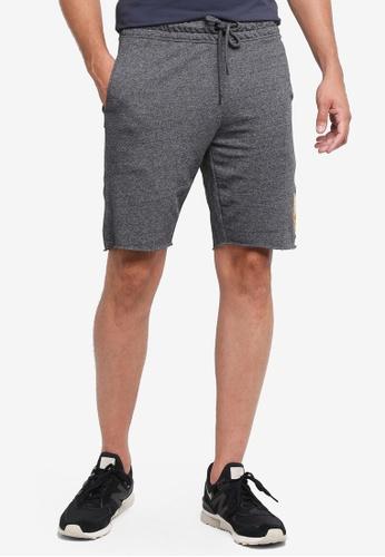 Topman black Tiger Embroidery Denim Shorts Black 2CD76AAA8DD2D2GS_1