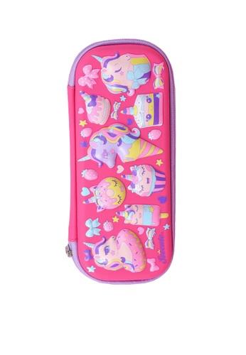 Twenty Eight Shoes pink VANSA 3D Cartoon Pencil Case  VAK-A99887 91FFDKC2CCCC10GS_1