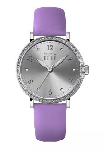 ELLE purple Fashion Ladies Watch SP241AC23TZWMY_1