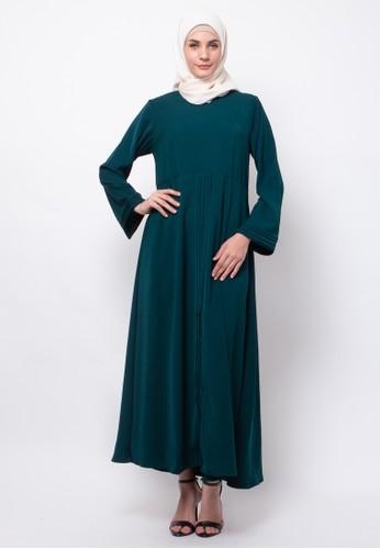 Allev green Safira Dress - Hijau C4C86AAC24E2EDGS_1