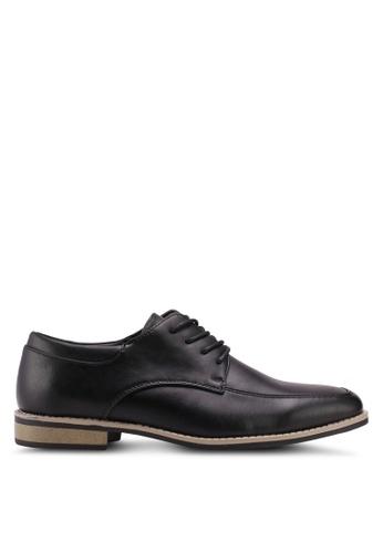 Bata black Bata Faux Leather Dress Shoes 05DE4SHEE6C78BGS_1