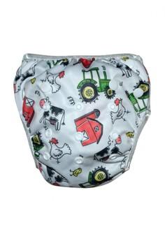 Swim Diaper - Barn Yard