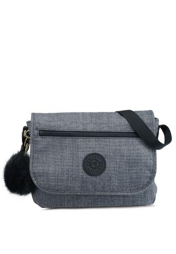 Kipling Grey Mimosa Sling Bag 4f331acd12965dgs 1