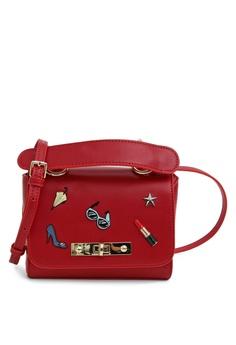 b2cf98261cd Belle   Bloom red Auguste Cross Body Bag E57E6AC4D18357GS 1