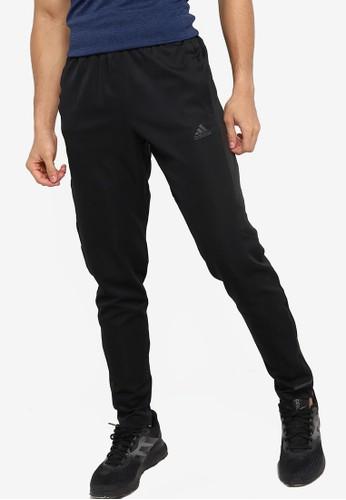 ADIDAS black own the run astro pants C7377AA69F3CEAGS_1
